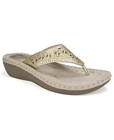 Cliffs by White Mountain Carlotta Comfort Thong Sandals