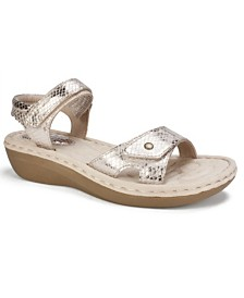 Cliffs by White Mountain Charlee Ankle Strap Comfort Sandals