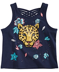 Toddler Girls Jaguar Graphic Tank Top, Created for Macy's