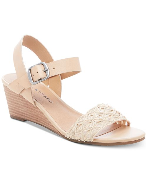 Lucky Brand Women's Jaliena Wedge Sandals