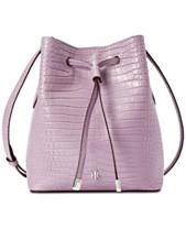 f32f298471 Lauren Ralph Lauren Dryden Mini Debby II Leather Drawstring Bag
