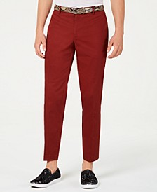 INC Men's Slim-Fit Brick Pants, Created for Macy's