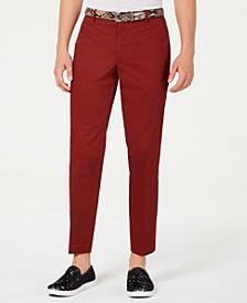 INC Men's Slim-Fit Brick Pants, Created for Macy's