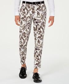 I.N.C. Men's Slim-Fit Botanical Pants, Created for Macy's
