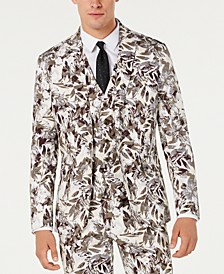 INC Men's Slim-Fit Botanical Blazer, Created for Macy's