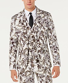 I.N.C. Men's Slim-Fit Botanical Blazer, Created for Macy's