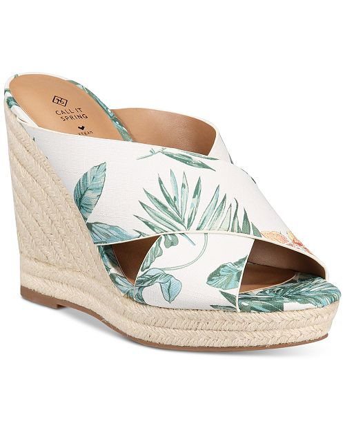 Call It Spring Andrusha Wedge Sandals Reviews Sandals