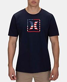 Hurley Men's Stars & Stripes Graphic T-Shirt