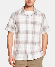 Weatherproof Vintage Men's Plaid Camp Shirt