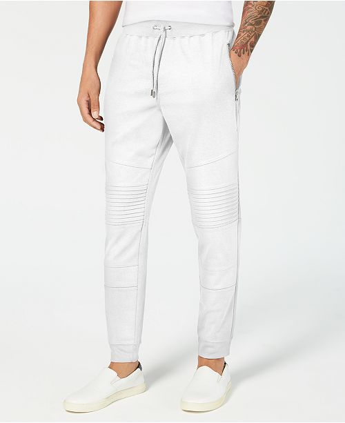 INC International Concepts I.N.C. Men's Knit Moto Jogger Pants, Created for Macy's