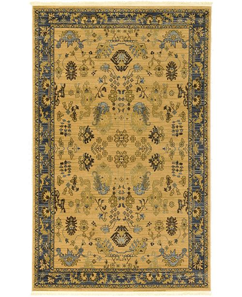 Bridgeport Home Orwyn Orw2 Tan 5' x 8' Area Rug