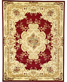 Bridgeport Home Belvoir Blv5 Red 9' x 12' Area Rug