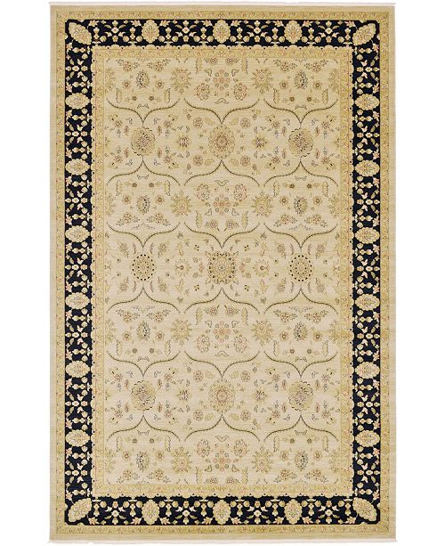 "Bridgeport Home Orwyn Orw6 Beige/Black 10' 6"" x 16' 5"" Area Rug"