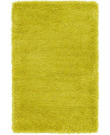 "Bridgeport Home Jiya Jiy1 Chartreuse Yellow 3' 3"" x 5' 3"" Area Rug"