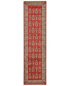 "Ojas Oja1 Red 2' 7"" x 10' Runner Area Rug"