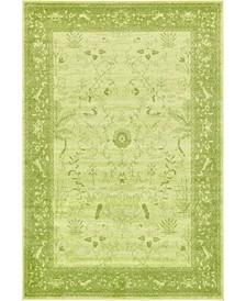 Aldrose Ald4 Light Green 6' x 9' Area Rug