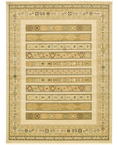 "Bridgeport Home Ojas Oja4 Ivory 12' 2"" x 16' Area Rug"