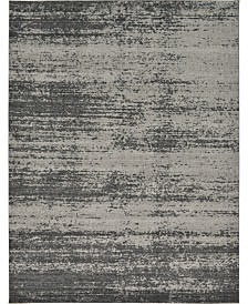 Bridgeport Home Lyon Lyo3 Dark Gray 9' x 12' Area Rug
