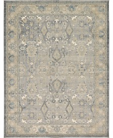 Bridgeport Home Bellmere Bel6 Gray 9' x 12' Area Rug