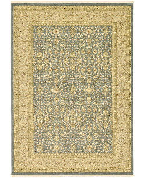 Bridgeport Home Orwyn Orw8 Blue 8' x 11' Area Rug