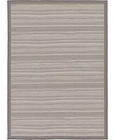 Pashio Pas4 Gray 7' x 10' Area Rug