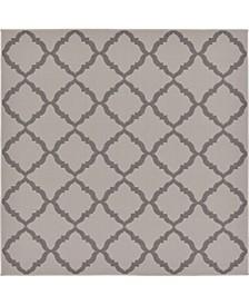 Pashio Pas5 Gray 6' x 6' Square Area Rug