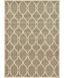 Bridgeport Home Arbor Arb6 Beige 7' x 10' Area Rug