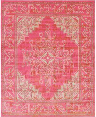 Aroa Aro8 Pink 8' x 10' Area Rug