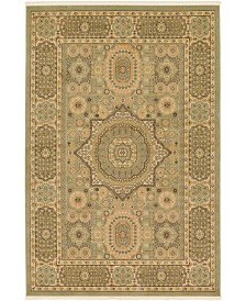 Bridgeport Home Wilder Wld5 Light Green 6' x 9' Area Rug