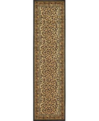 """Maasai Mss9 Light Brown 2' 7"""" x 10' Runner Area Rug"""