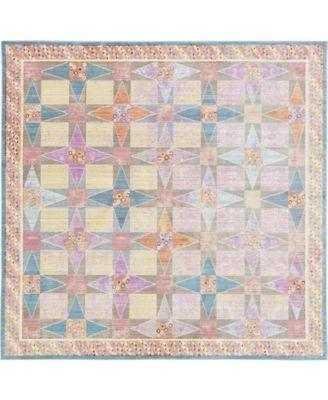 Malin Mal1 Multi 8' x 8' Square Area Rug