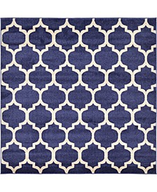 Arbor Arb1 Dark Blue 6' x 6' Square Area Rug