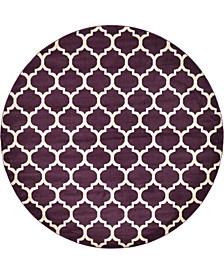Arbor Arb1 Purple 10' x 10' Round Area Rug
