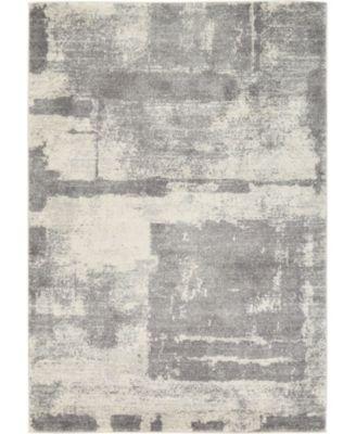 Wisdom Wis4 Gray 4' x 6' Area Rug