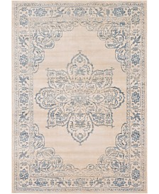 Bridgeport Home Caan Can4 Beige 7' x 10' Area Rug