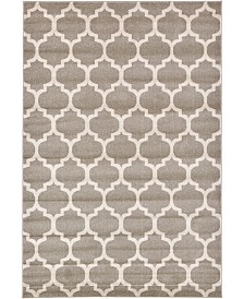 Bridgeport Home Arbor Arb1 Tan 6' x 9' Area Rug