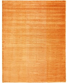 "Bridgeport Home Jiya Jiy1 Orange 12' 2"" x 16' Area Rug"
