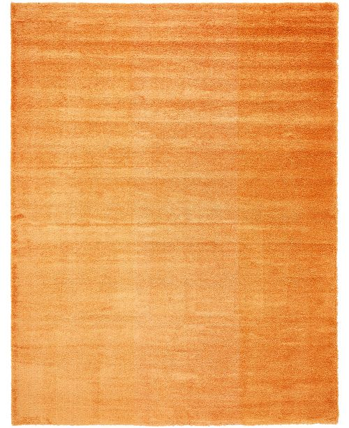 "Bridgeport Home Jiya Jiy1 Orange 12' 2"" x 16' Area Rug"