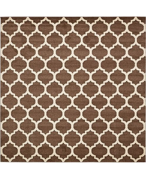 Bridgeport Home Arbor Arb1 Light Brown 10' x 10' Square Area Rug