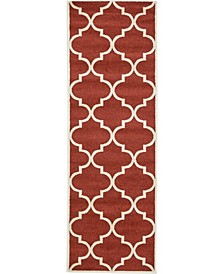 "Arbor Arb3 Rust Red 2' 7"" x 8' Runner Area Rug"