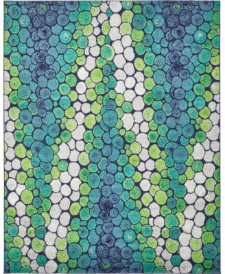 Politan Pol3 Light Green 8' x 10' Area Rug