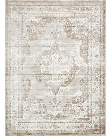 Bridgeport Home Basha Bas2 Beige 9' x 12' Area Rug