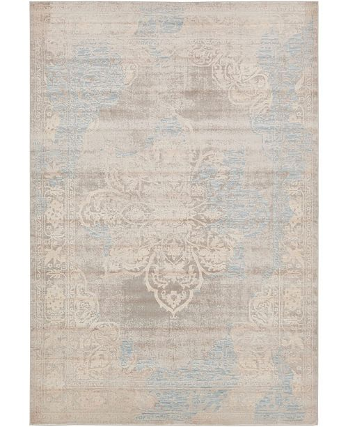Bridgeport Home Caan Can4 Taupe 7' x 10' Area Rug