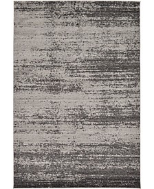 Lyon Lyo3 Dark Gray 6' x 9' Area Rug