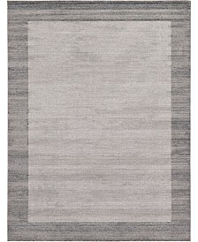 Bridgeport Home Lyon Lyo4 Light Gray 9' x 12' Area Rug