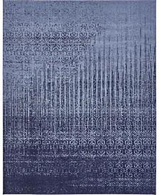 Lyon Lyo2 Blue 8' x 10' Area Rug