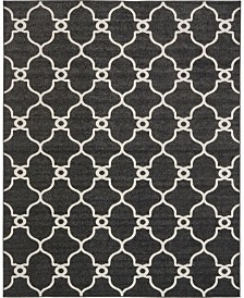 Bridgeport Home Pashio Pas2 Black 8' x 10' Area Rug