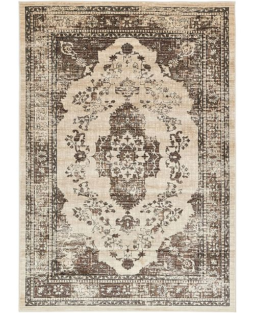 Bridgeport Home Masha Mas8 Tan 7' x 10' Area Rug