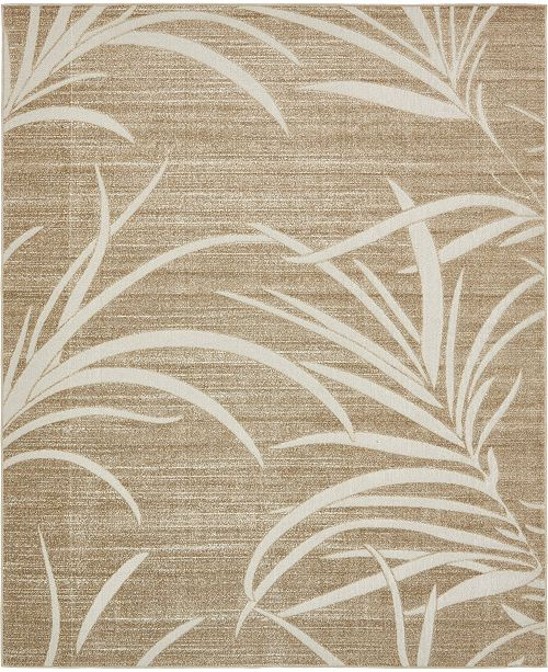 Bridgeport Home Pashio Pas4 Beige 8' x 10' Area Rug