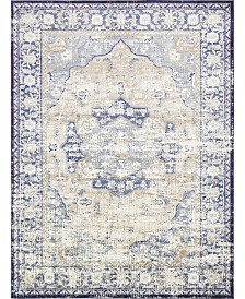 "Bridgeport Home Ananta Ana4 Blue 10' 6"" x 16' 5"" Area Rug"
